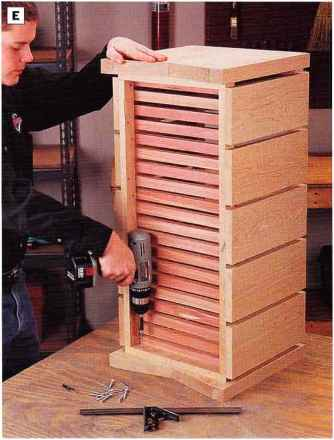 Attaching Bench Slats