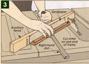Miter Joint Reinforced With Bow Tie