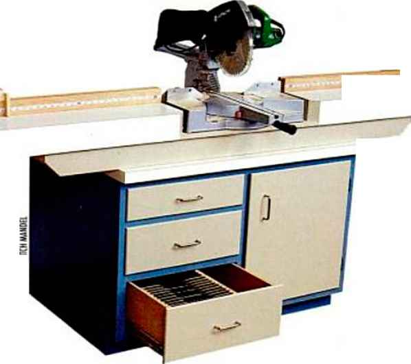 Chop Saw Station Plans