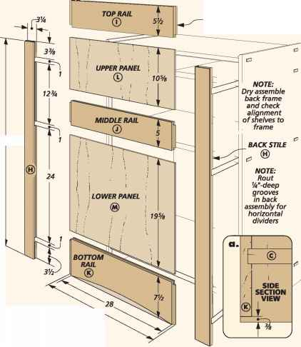 Cabinet Rails And Stiles Cabinets Matttroy