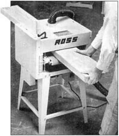 Ross Super Sander Drum Sander