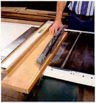 Edge Jointing With Thickness Planer