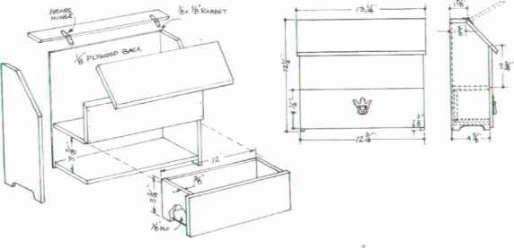 Spanish Chest Furniture Designs Woodworking Archive