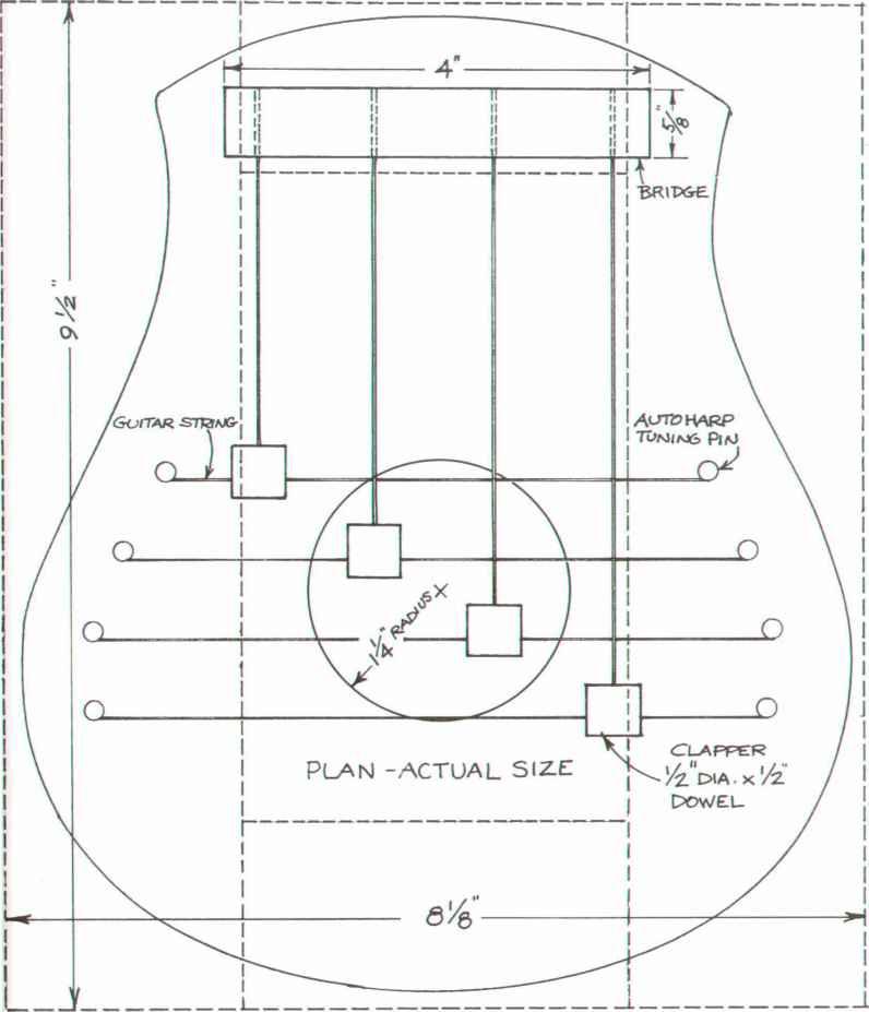 Swedish Door Harp - Furniture Designs - Woodworking Archive