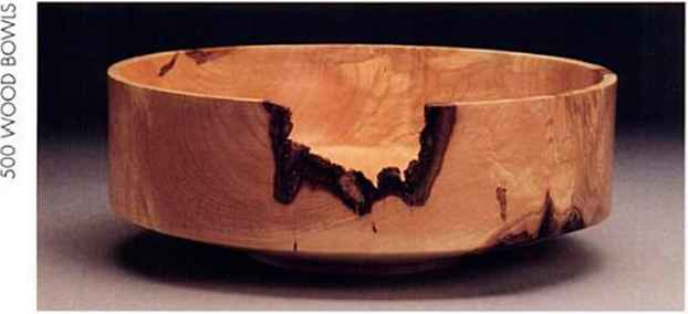 Routed Wood Bowls