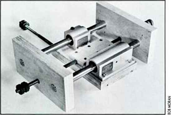 Pillow Block Arbor Assembly