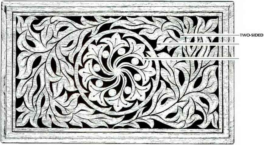 Wood Carving Border Patterns