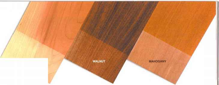 Stain Colors Maple Wood