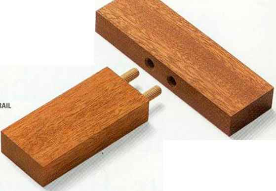 Dowel Together Stiles Rails
