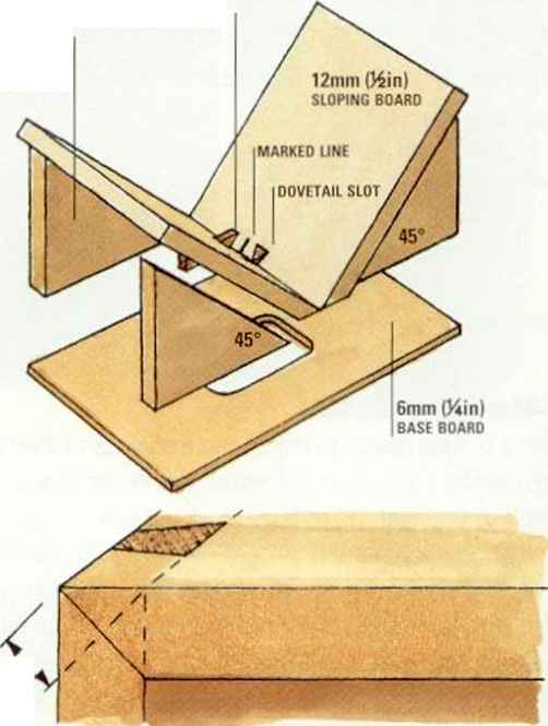 Mdf Cradle Jig Degrees