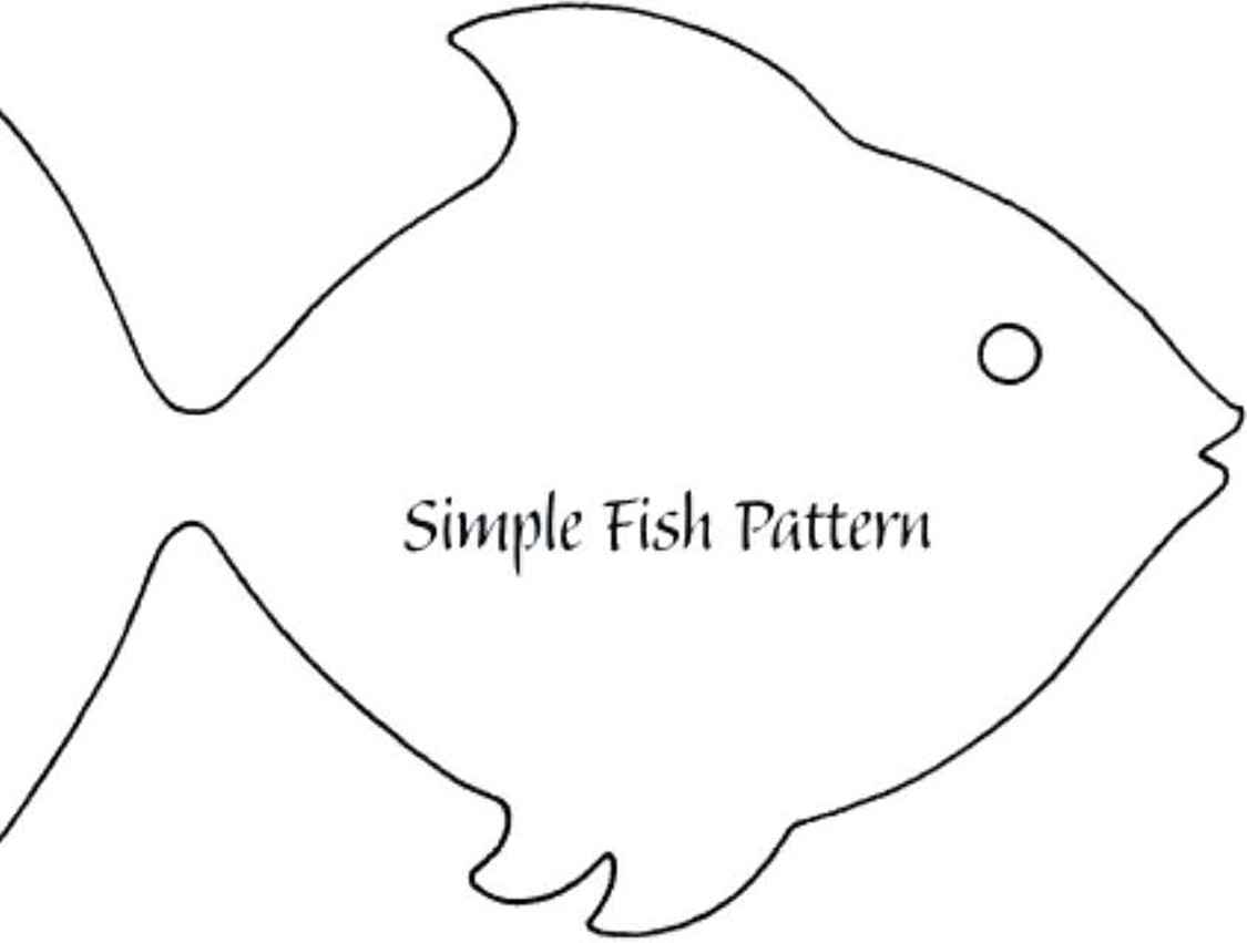 Simple Fish Pattern