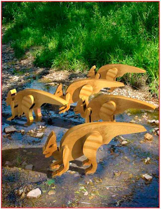 Horse Chainsaw Carvings