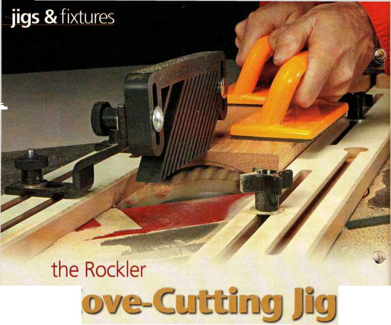Cove Cutting Table Saw
