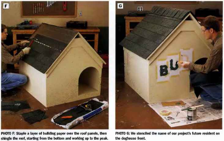 Exterior Materials Doghouse