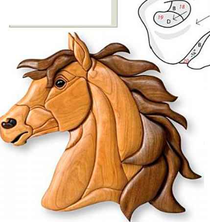 Intarsia Woodworking Projects - Intarsia Woodworking
