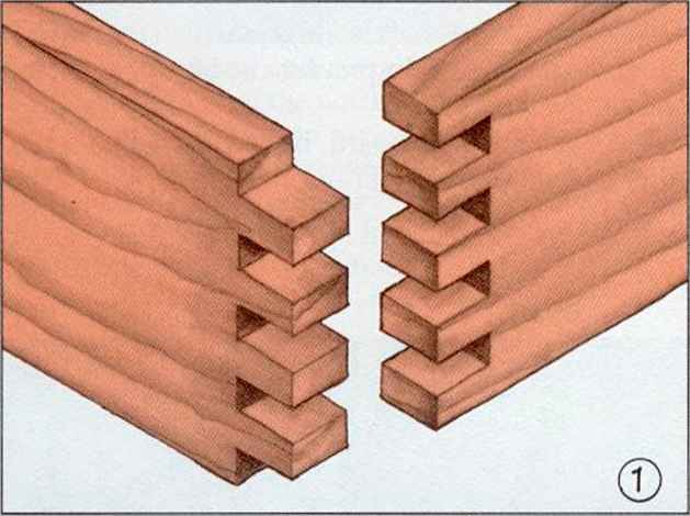 Interlocking Wood Joints