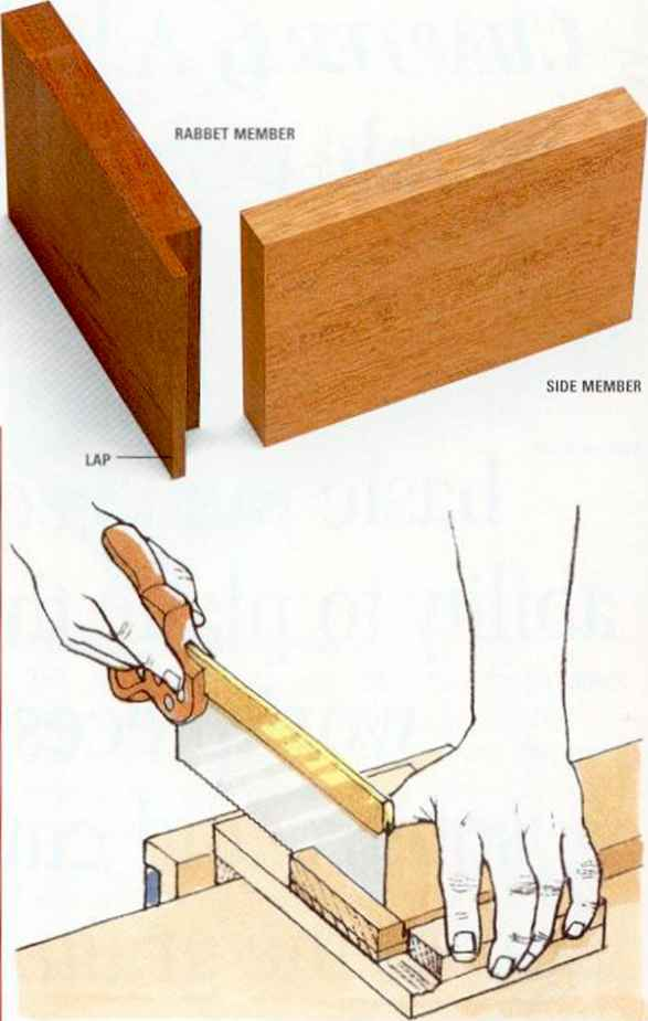 Tee Bridle Joint - Machine-Cut Joint - Woodworking Archive