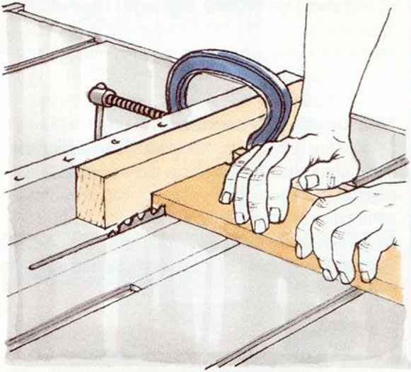 Miter Saw Fence Height Extension