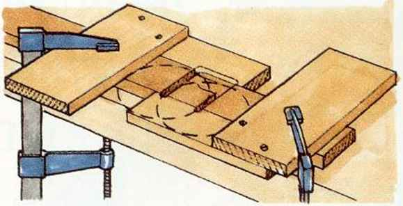 Using A Radialarm Machine Cut Joint Woodworking Archive