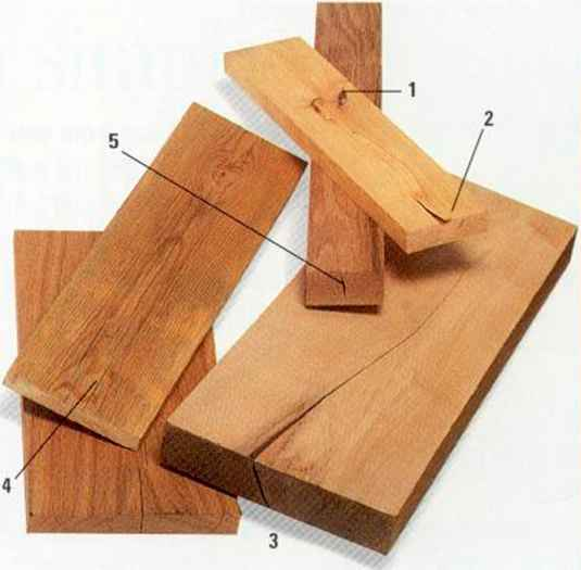 Honeycomb Wood Defects