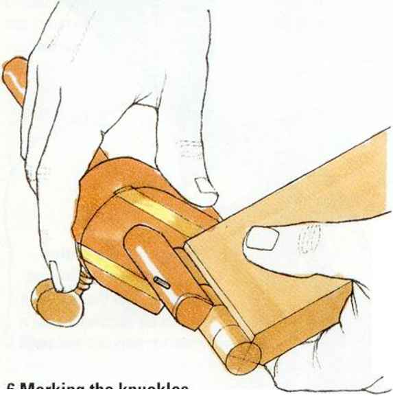 how to cut bandaids for knuckle