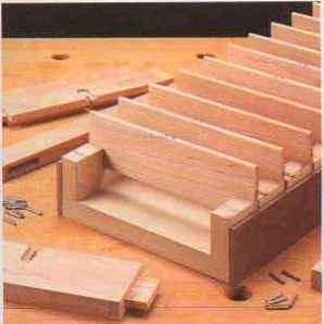 Louvers Oak Tool Cabinet Woodworking Archive