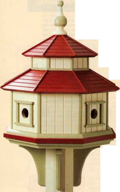 Octagonal Birdhouse Rocker And Stool Woodworking Archive