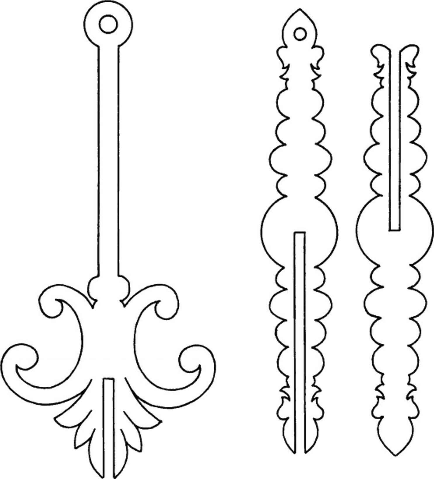 Hanging Ornaments - Scroll saw - Woodworking Archive