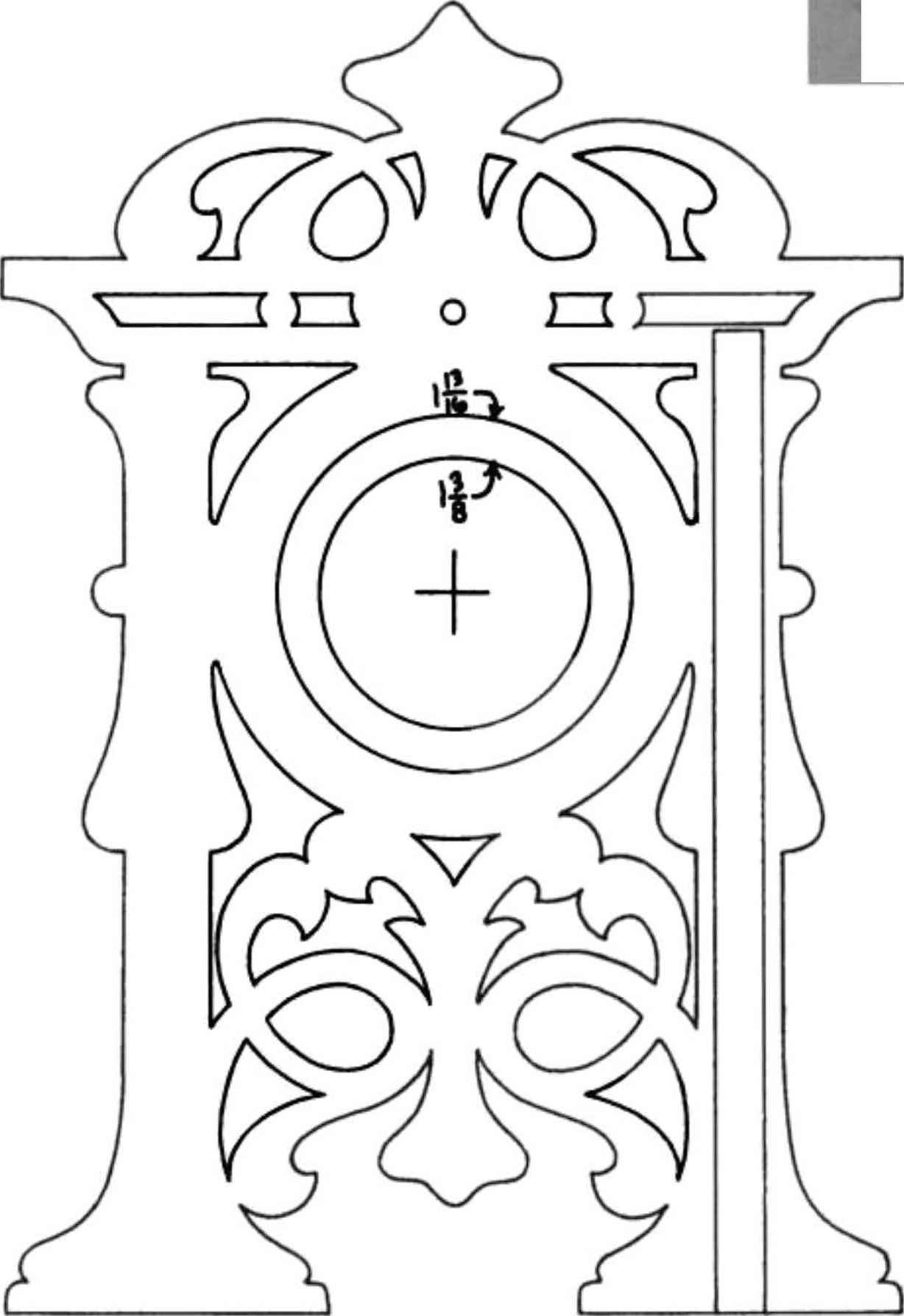 Clocks - Scroll saw - Woodworking Archive