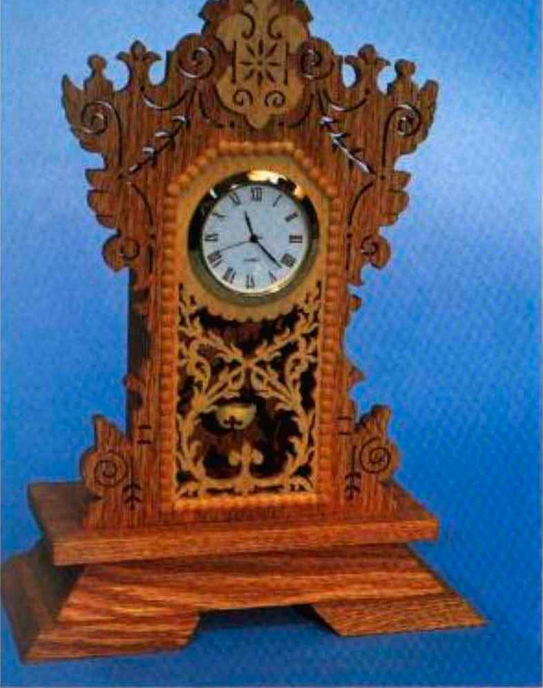 Scroll Saw Clocks
