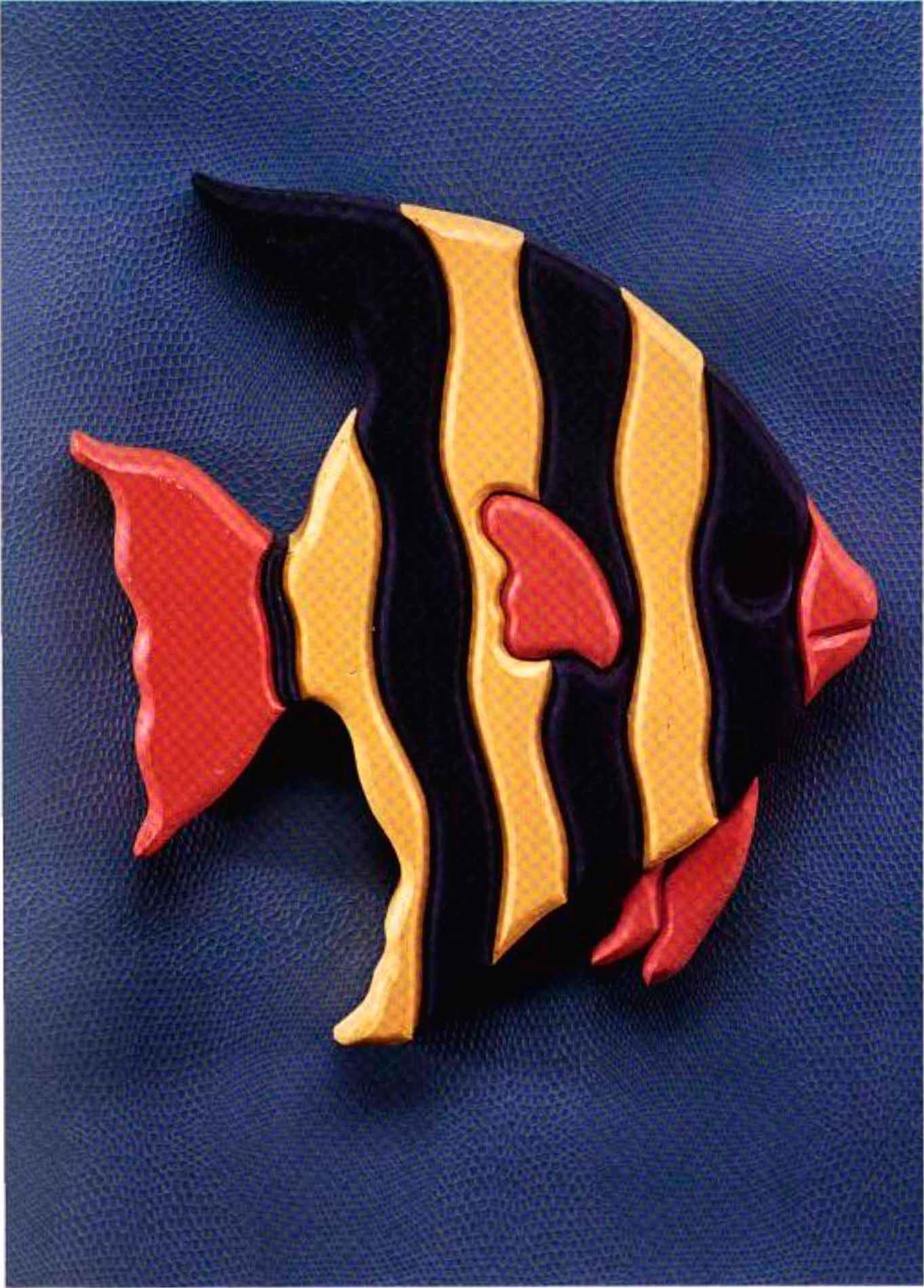 Striped Fish - Scroll saw - Woodworking Archive