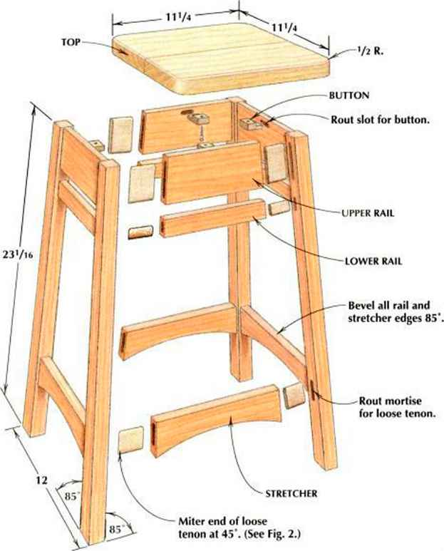 Woodshop Desks With Hidden Compartment
