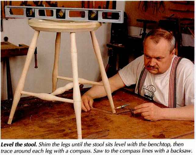 Drilling Stool Stretchers