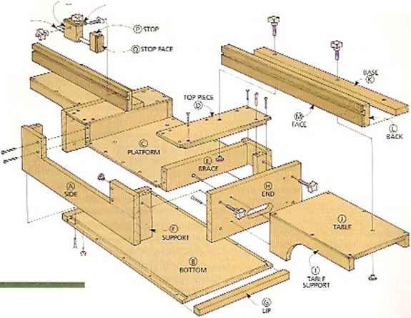 Image Result For Woodworking Plans Miter Saw Station