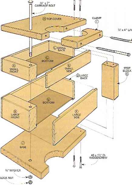 Plan Bookcase