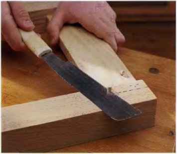 Pinned Through Tenon