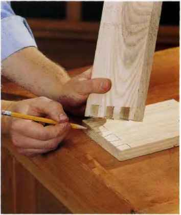 How Cut Dovetail Joints
