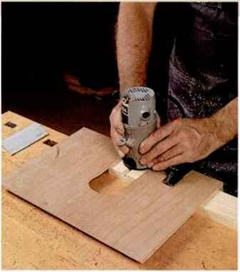 Make Jigs Router Dovetail