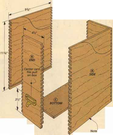 Plywood Box Joints