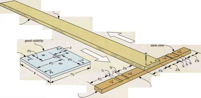 Shop Made Plywood Table Saw Fence