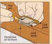 Installing Mortise Locks Humidor