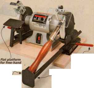 Bench Grinder Trestle Table Woodworking Archive