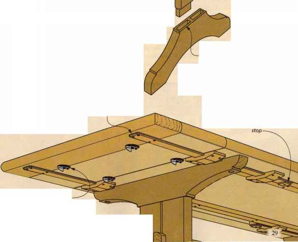 how to build breadboard ends on decks