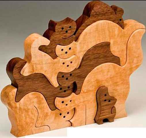 The Ultimate Puzzle - Wooden Puzzles - Woodworking Archive