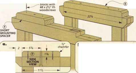 Pdl Shallow Mounting Block Spacer
