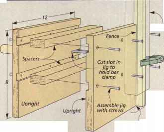 Table Saw Router Workbench
